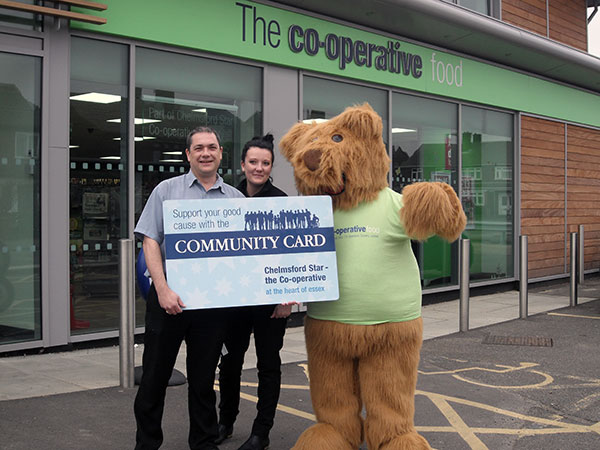 Support us when you shop!  Community Cards available for Co-op at The Sorrells