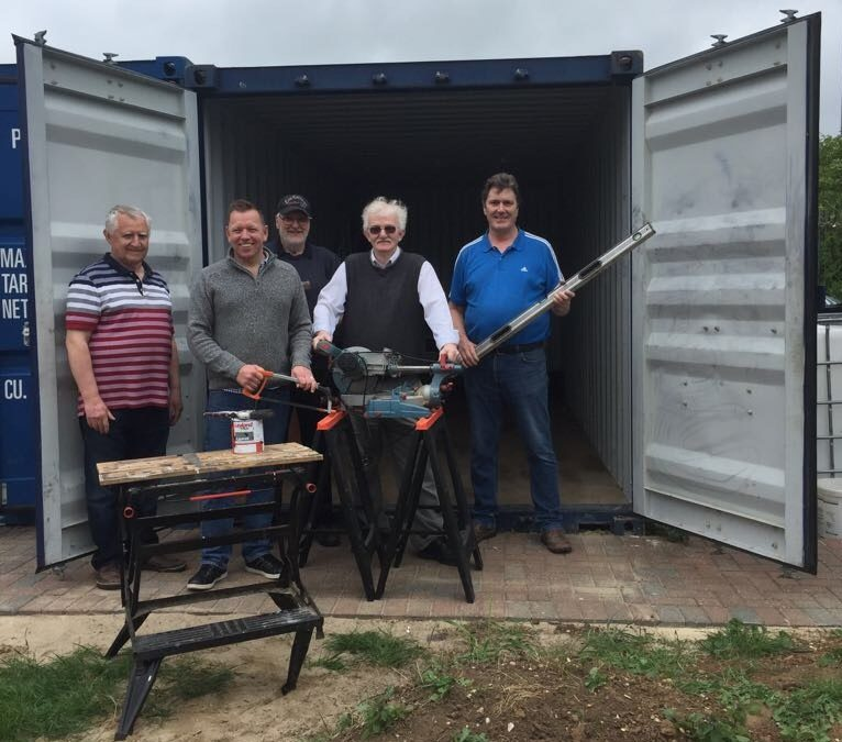 Men's Shed: A place to share skills and a mug of tea