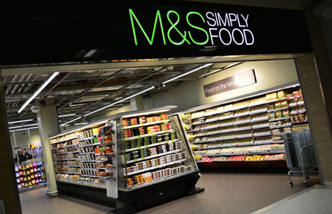 In cahoots with M & S to redirect surplus food